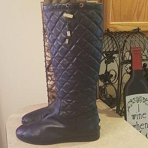 Michael Kors Lizzie boots size 9